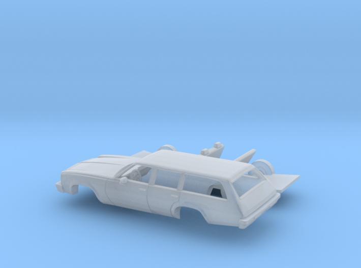 1/160 1976/77 Chevrolet Chevelle Station Wagon Kit 3d printed