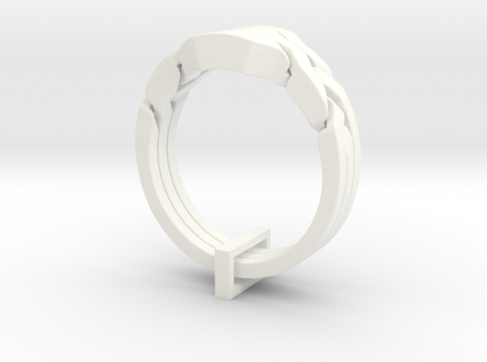 Trinity Ring 3d printed
