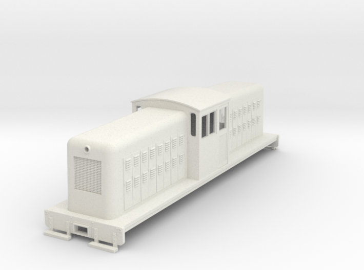 On30 large center cab body for SD7/9 chassis v1 3d printed