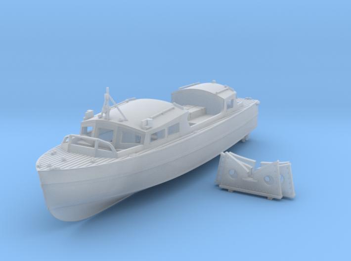 1/96 Royal Navy 35ft Fast Motor Boat 3d printed 1/96 Royal Navy 35ft Fast Motor Boat