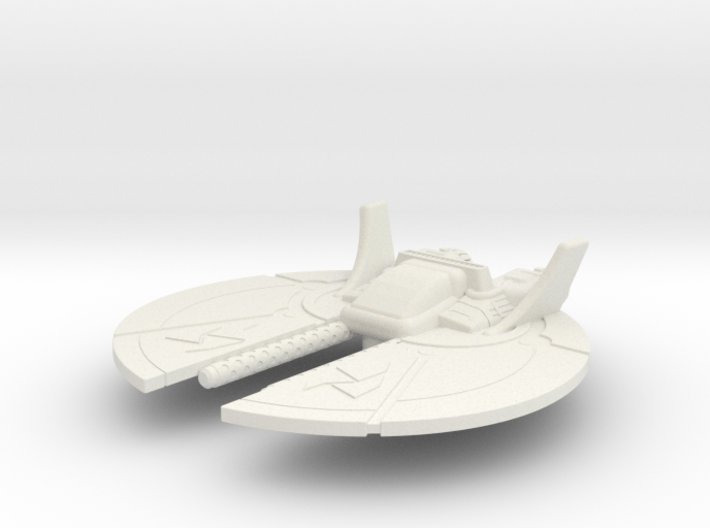 Dralthi Fighter Mk. I: 1/270 scale 3d printed
