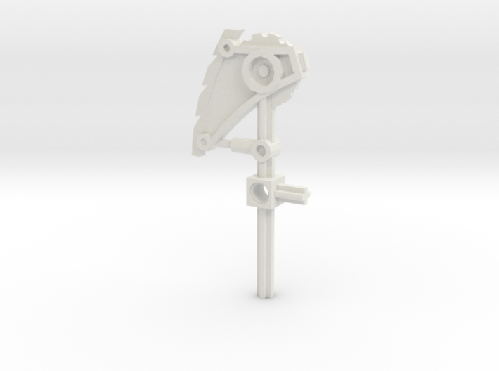 Bionicle weapon (Nuparu, set form) 3d printed