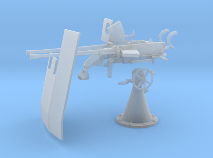 1/45 DKM Double 20mm C/30 Flak KIT 3d printed