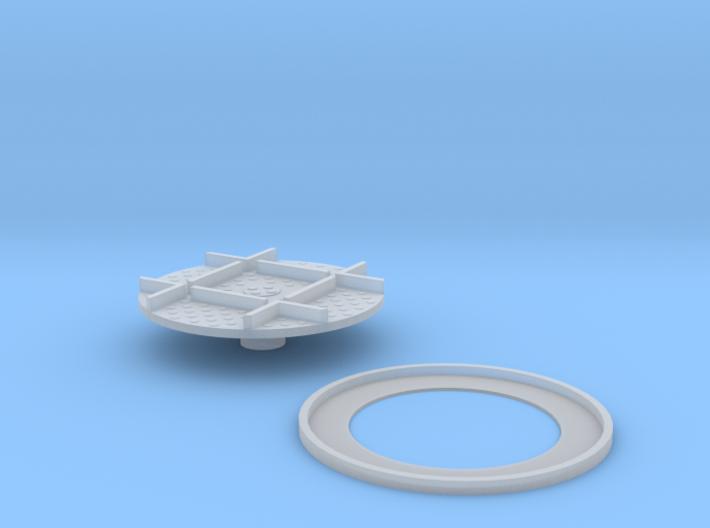 Narrow Gauge Turntable 5.5mm 3d printed