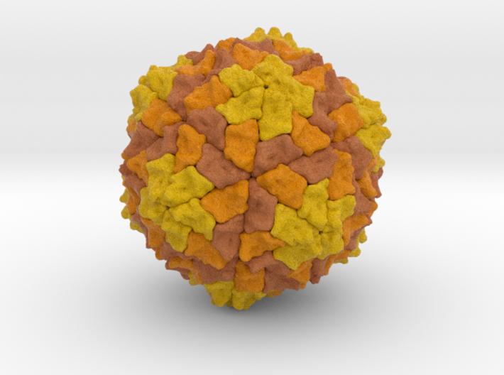 Sesbania Mosaic Virus 3d printed