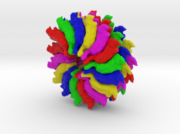 Ribgrass Mosaic Virus 3d printed