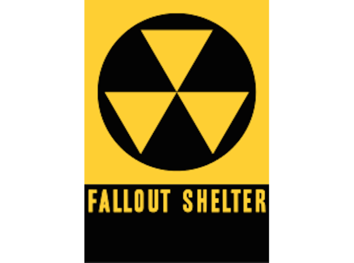 Fallout shelter d6 3d printed