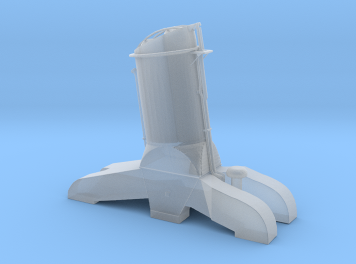 Shortened Funnel - scaled and modded 2 3d printed