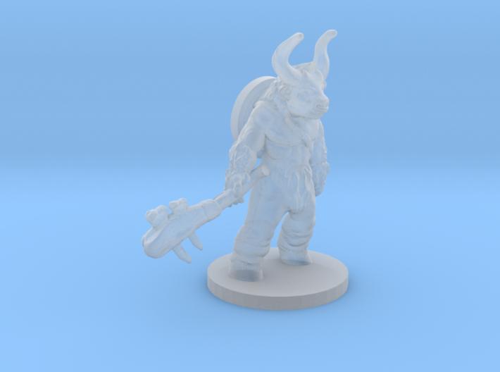 minotaur warrior 3d printed