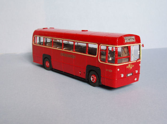 1:43 London Transport RF Bus-Central Area Body 3d printed Completed model