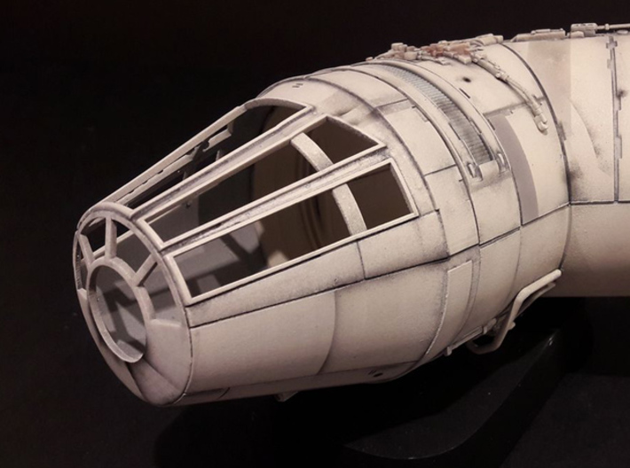 YT1300 DEAGO CABIN CONE 3d printed Cone primed and painted. Photo: Fabrice Maggio -thanks!-.