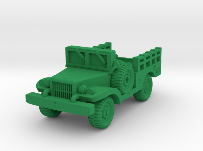 Dodge WC51 - Allied WWII Vehicle Miniature 3d printed