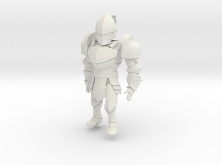 Knight named KAI 3d printed