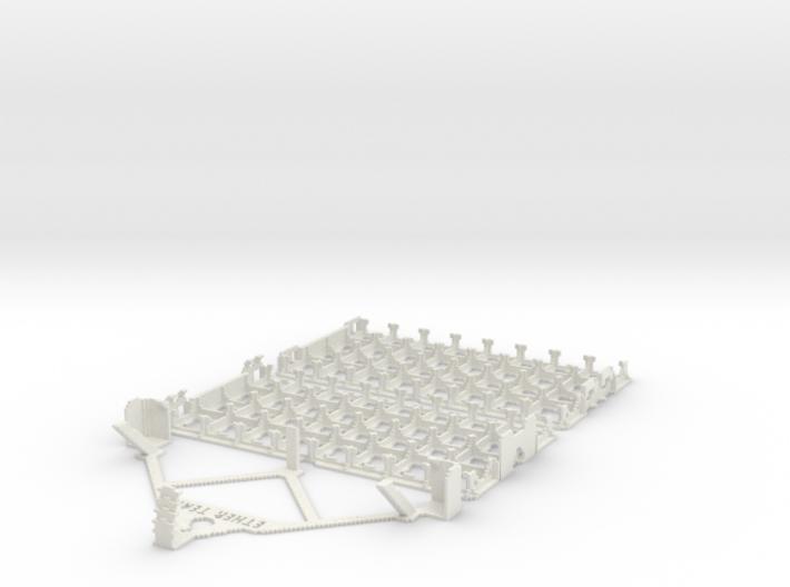 "DiceMasters storage tray 4x8 ""team pack"" 3d printed"