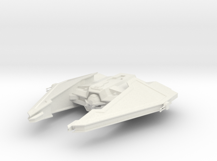 Sith Fury-class Imperial Interceptor 3d printed