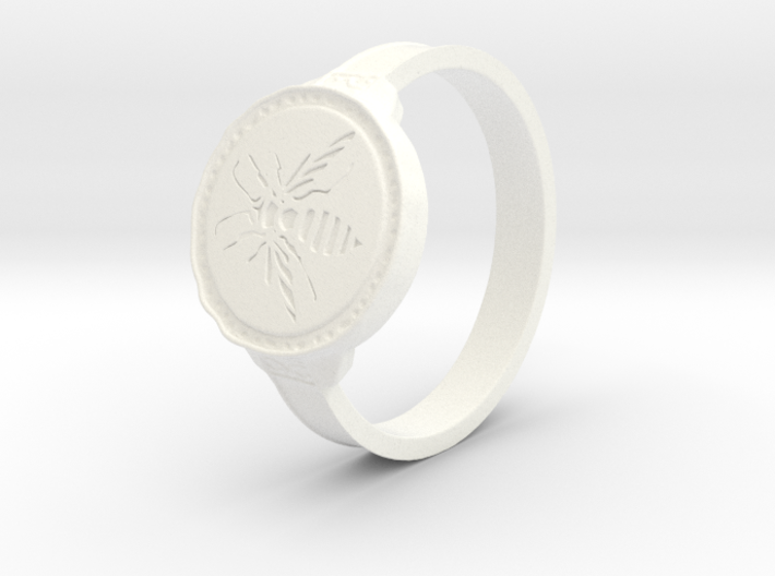 Hornet Ring 3d printed