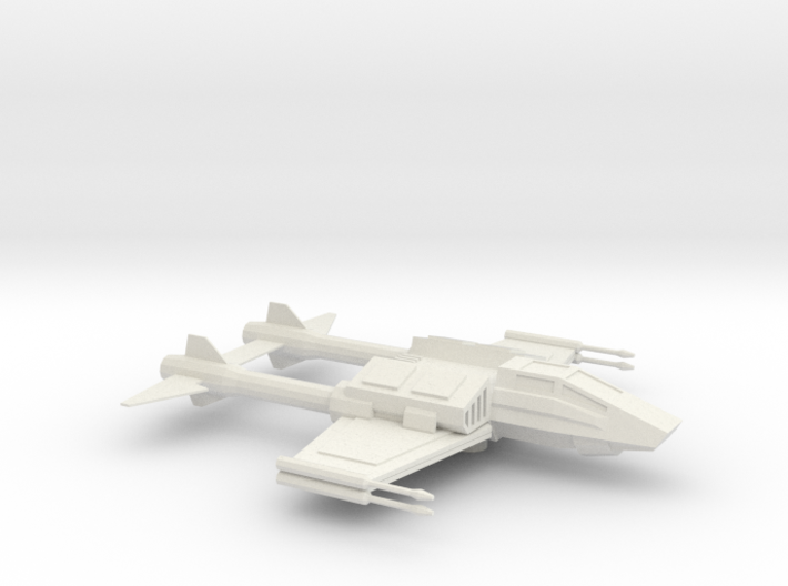 X-83 TwinTail Starfighter 3d printed