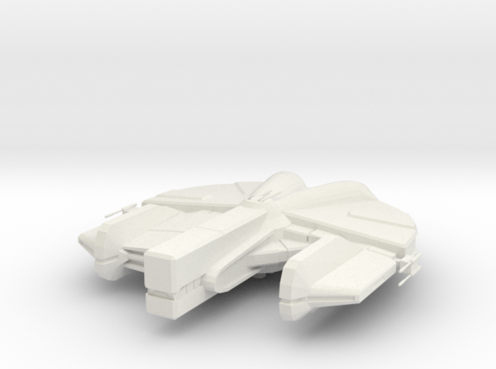 Dynamic-class Freighter 3d printed