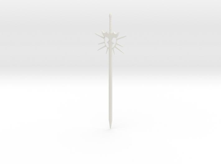 Sun longsword 3d printed
