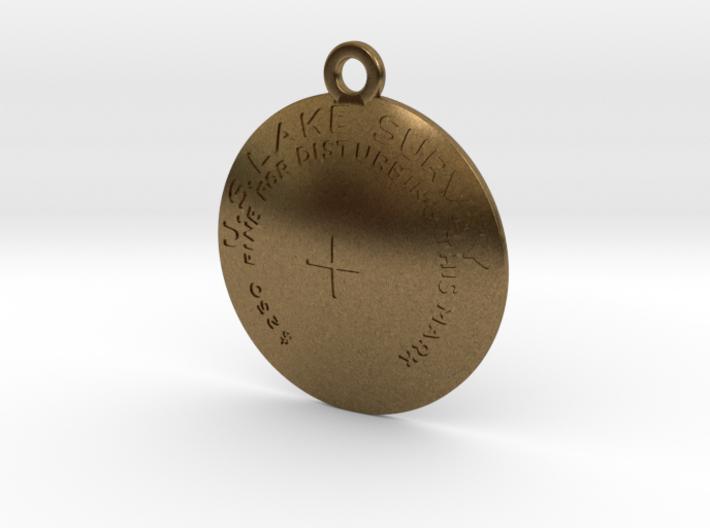 USLS Benchmark Keychain 3d printed