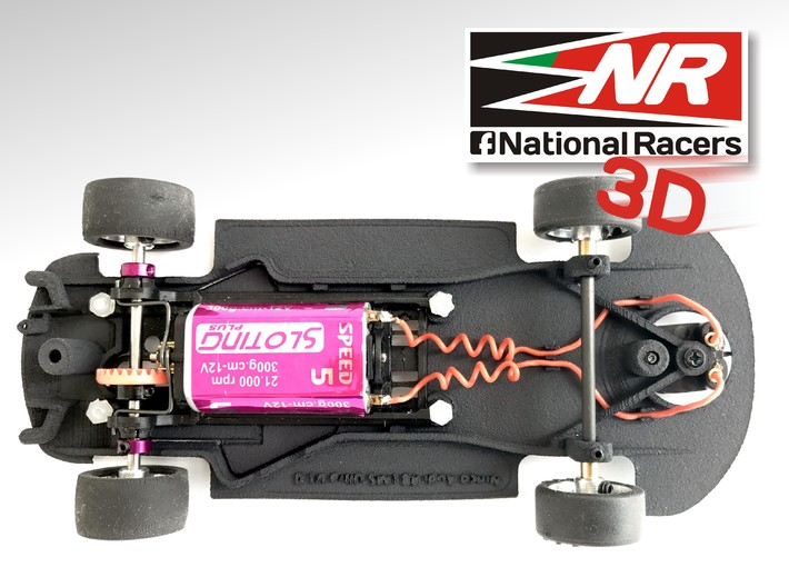 3D Chassis - Ninco Audi R8 LMS - Combo 3d printed