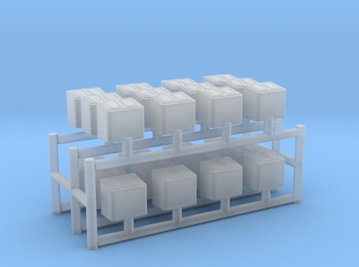 1/200 DKM Skylight Small w/o Lid Set x24 3d printed