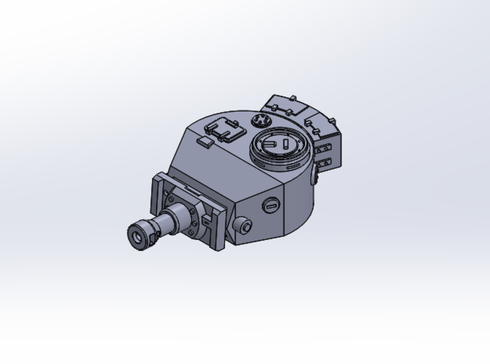 SD Tank Tiger 1 (Part 1/3) 3d printed