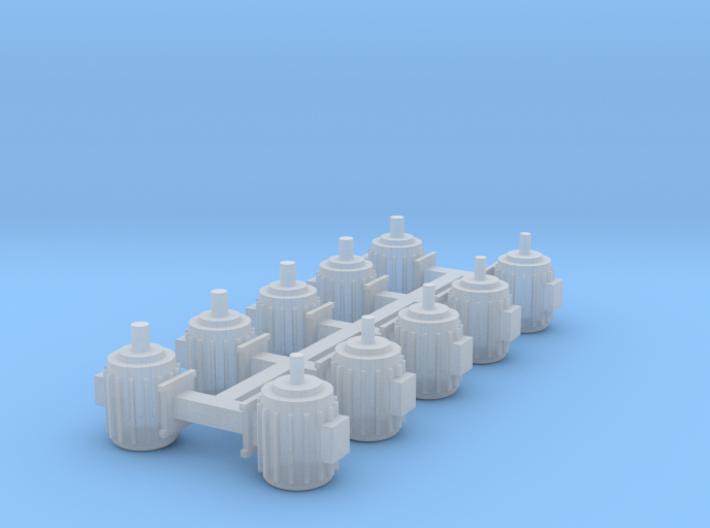 Elektromotoren Größe C 10er Set 1:120 3d printed
