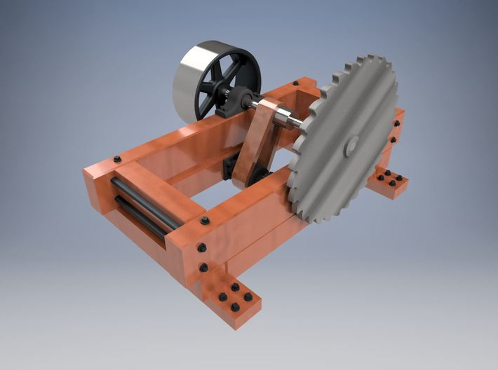 HO scale Circular Saw 3d printed