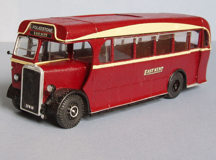 1:43 East Kent Coach 3d printed