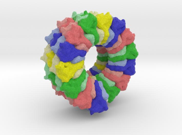 Sulfolobus Islandicus Virus 3d printed