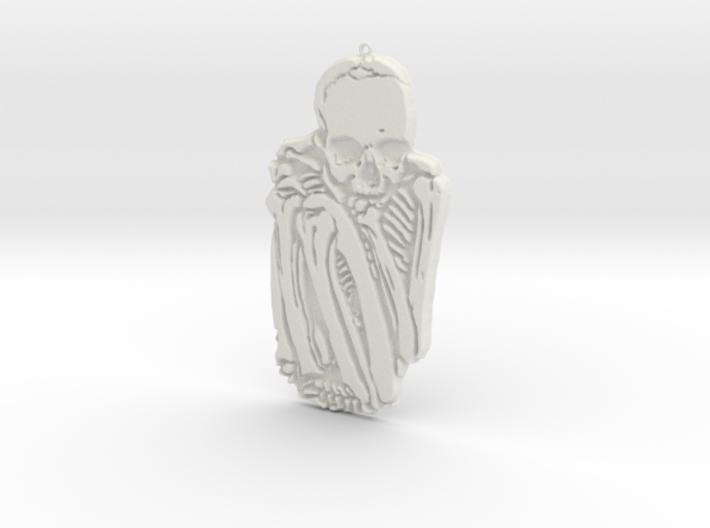 Lonely Bones 3d printed