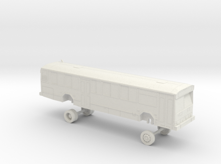 HO Scale Bus Gillig Phantom VTA 9900s 3d printed