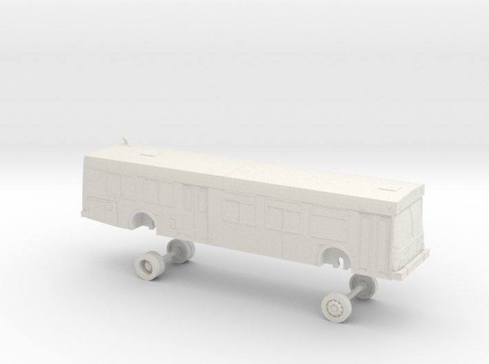 HO Scale Bus New Flyer D40LF NCTD 1100s 3d printed