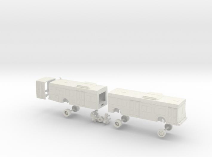 HO Scale Bus New Flyer D60LF VTA 2300s 3d printed