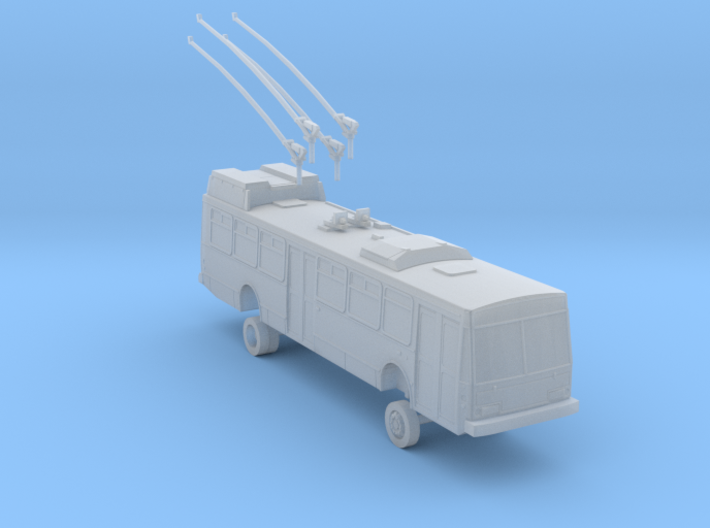 HO Scale ETI 14trsf Trolleybus Muni 5400-5600s 3d printed