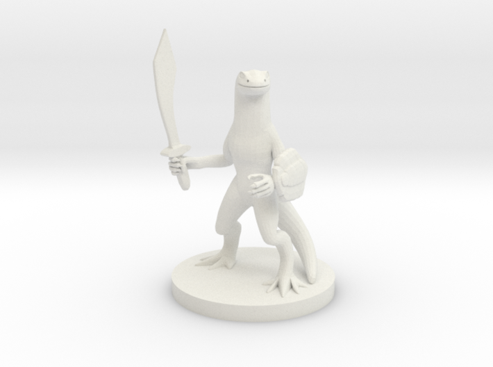 Firenewt Warrior 3d printed