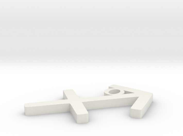 Sagittarius Pendant 3d printed
