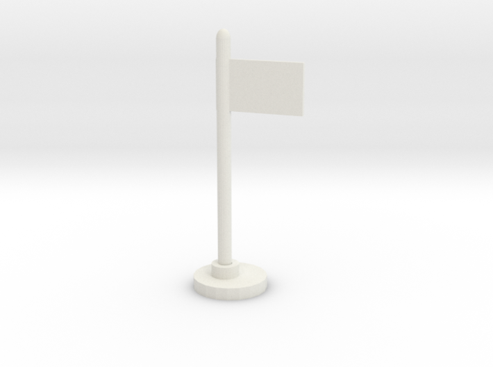 Flag Stand 3d printed