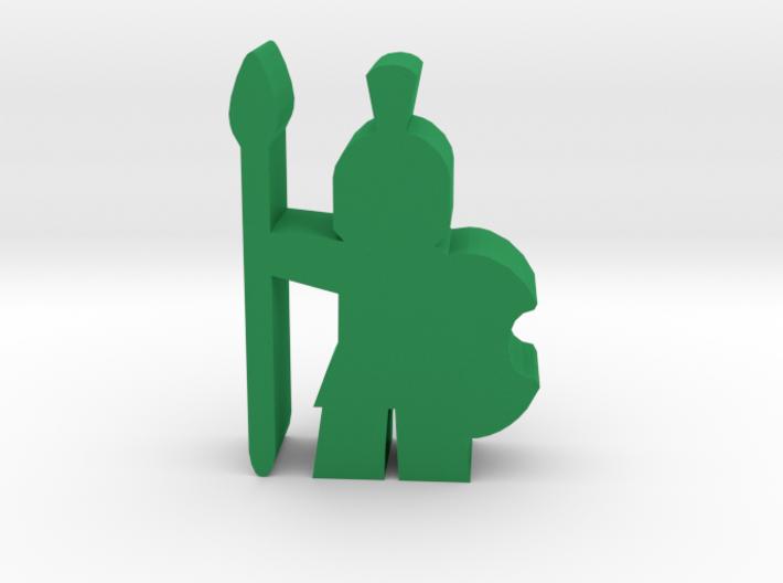 Game Piece, Trojan Hoplite 3d printed