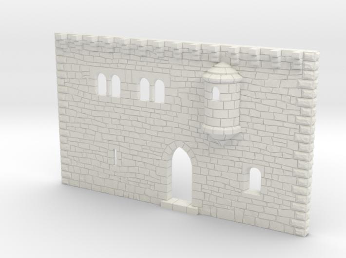 HOF001 - Facade of a castle 3d printed