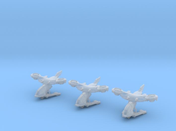 AV-14 Hornet 1:300 - 3 Pack 3d printed
