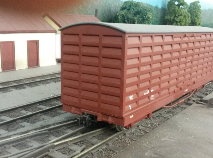 Victorian Railways 16mm scale NU van body  3d printed ready to load