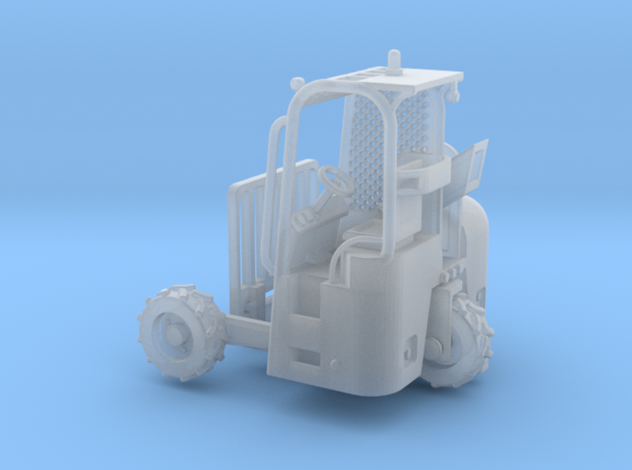 Truck Mounted Forklift 1-87 HO Scale Positional (F 3d printed
