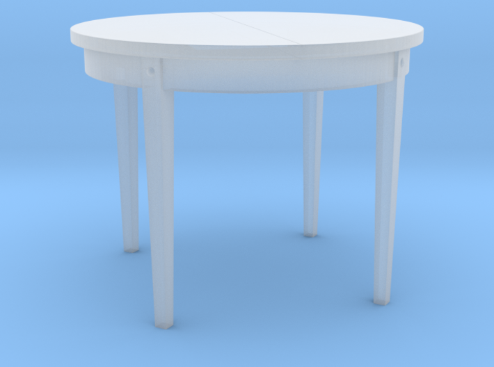 H0 Dinner Table - 1:87 3d printed