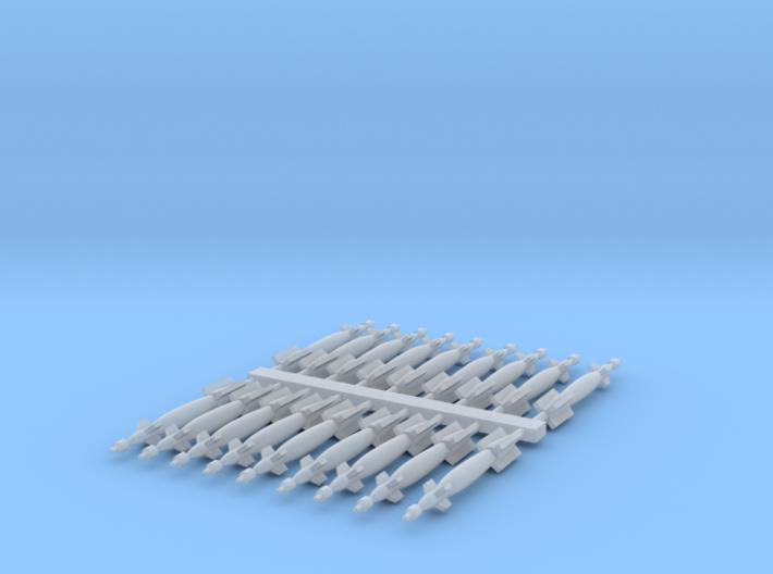 1:200 Scale Paveway LGBs 3d printed