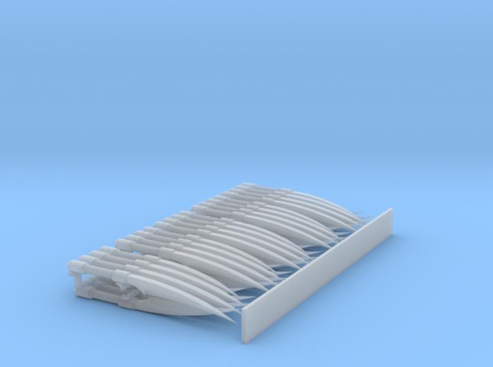 Lightning Claws #1 (x5) 3d printed