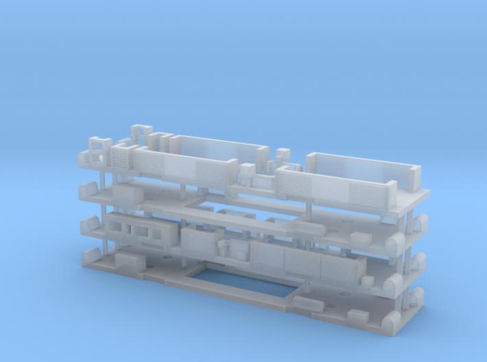 N Gauge Class 325/319 Underframe Set 3d printed