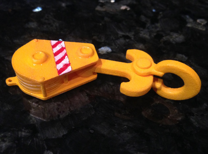 325 Ton Load Block (1 To 50 Scale) 3d printed Add a caption...