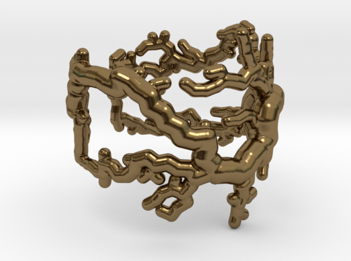 Root ring (US sizes 5.75 – 9.75) 3d printed